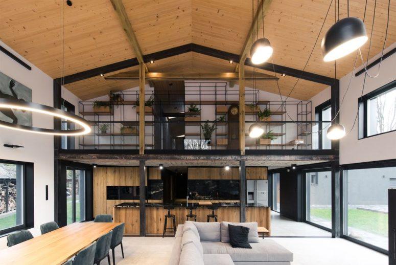 Modernt ladainspirerat hus med lakoninredning - DigsDi