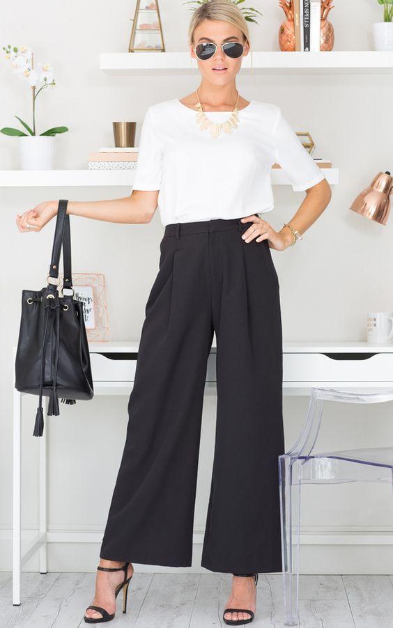 Flare leggings eleganta