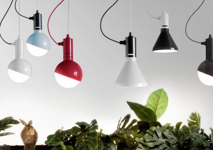 Denna elegant geometriska belysningssamling av Studio Aisslinger.