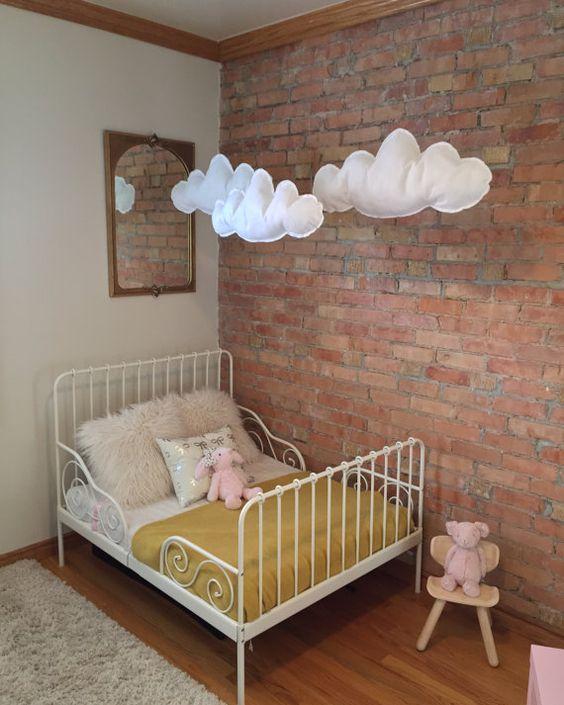 32 Edgy tegelväggsidéer för barnrum - DigsDi