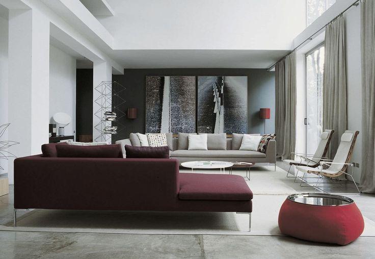 26 idéer för att framhäva ditt vardagsrum med Marsala    Bourgogne.