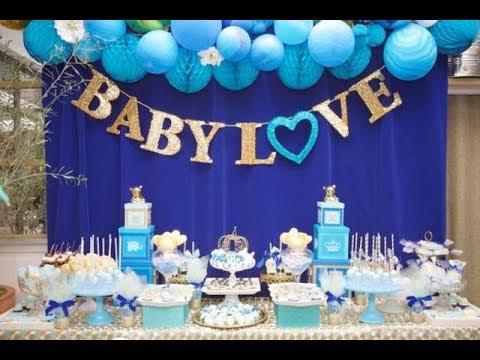Söt Baby Shower Dessertbord Dekor Idéer - YouTu