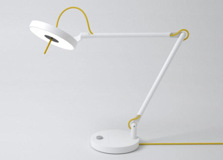 MyLiFi-lampa som tillhandahåller en internetanslutning - DigsDi
