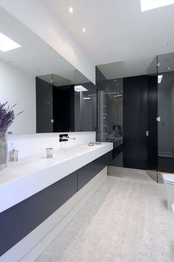 70 snygga minimalistiska badrumsinredningsidéer - DigsDi