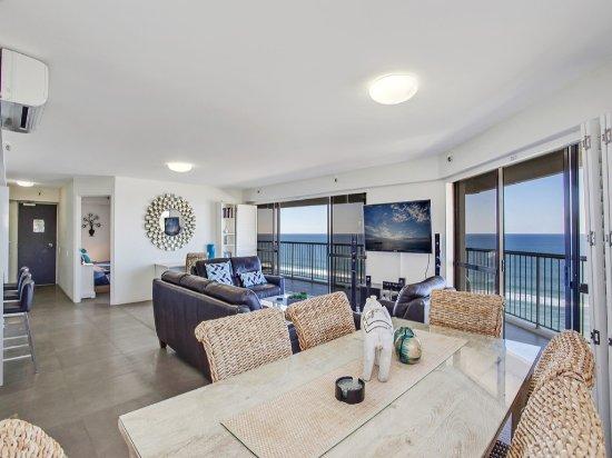360 graders utsikt från enhet 30 @ Burleigh Esplanade Apartment of.