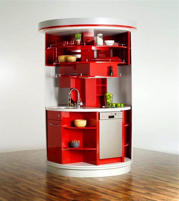 Kompakta köksdesigner för små utrymmen - allt du behöver i.
