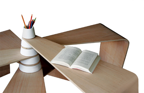 Familjens multifunktionella möbler av Jin-Young L.