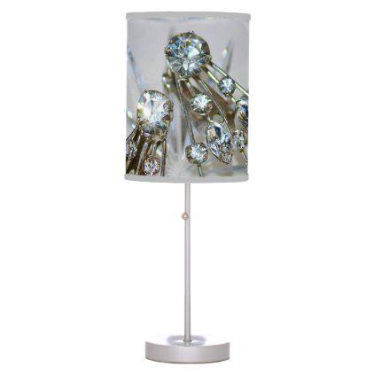 Retro Glam Bordslampa |  Zazzle.com 2020 |  Glambord, Glam.
