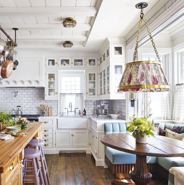 33 bästa vita köksidéer - vita köksdesigner och dec