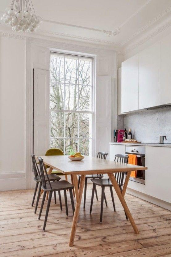 Snygg och originell London lägenhet inredning |  DigsDigs |  London.