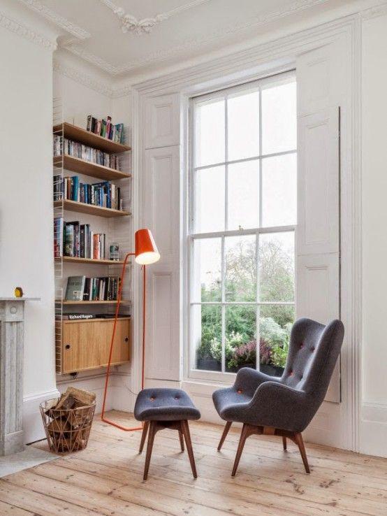 Snygg och originell inredningsdesign i London |  Hem vardagsrum.