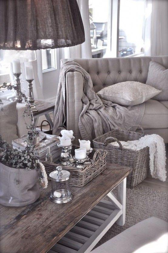 34 Bedårande och romantiska Provence-vardagsrum |  Hem, hemboende.
