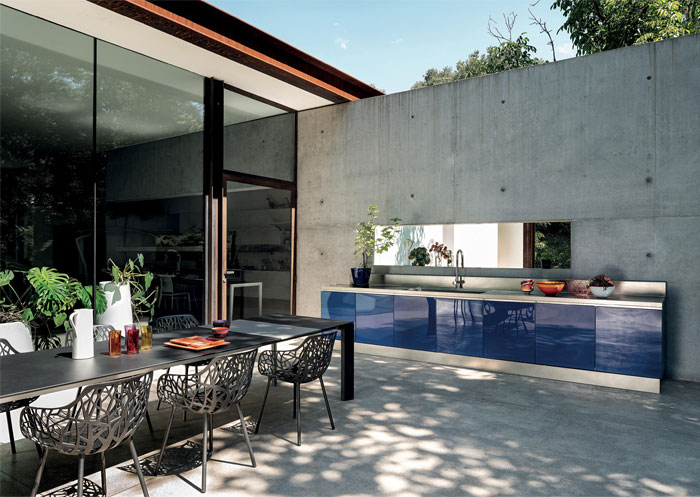 66 Moderna utomhusköksidéer och -designer - InteriorZi