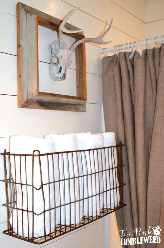 20 riktigt inspirerande DIY-handduksförvaringsidéer för alla små.