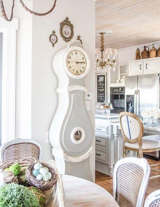 29 sätt att införliva en farfars klocka i dekor - DigsDi