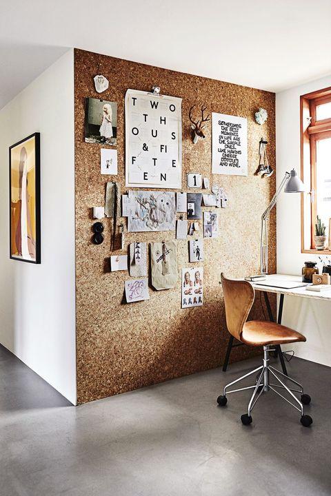 16 bästa hemkontorsidéer - Hur man dekorerar ett hemoffi