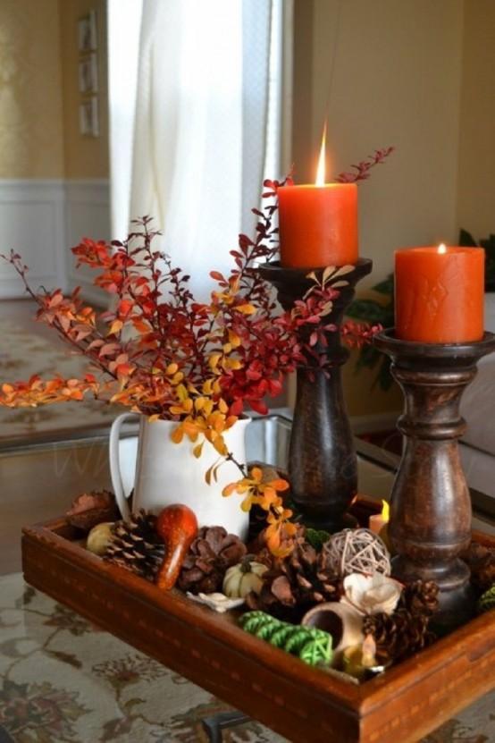 43 mysiga och söta ljusdesignidéer för hösten - DigsDi