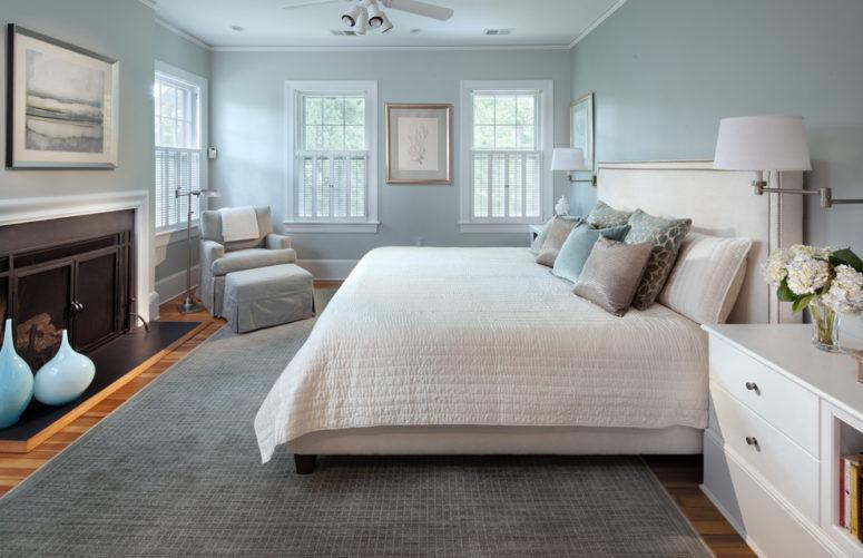 47 vackra blå och grå sovrum - DigsDi