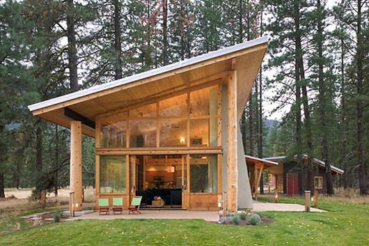 Små trähusarkitektur Design Cabin Ideas - Hemgalleri.