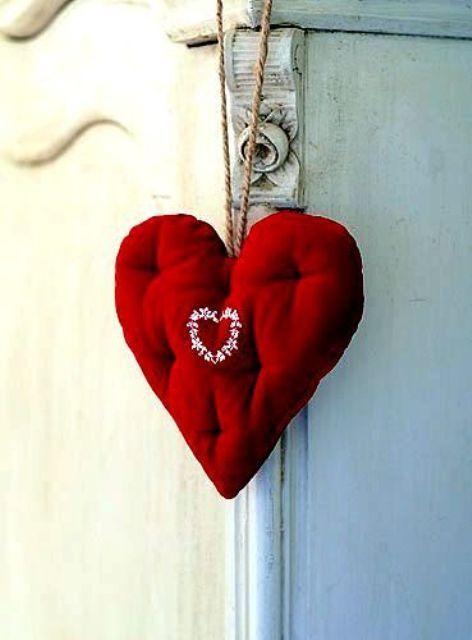 40 heta röda valentin för heminredning |  Jul hjärtan.