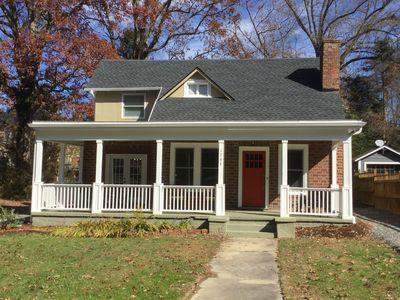 Vackert restaurerad 1920-tals historisk bungalow, minuter till.