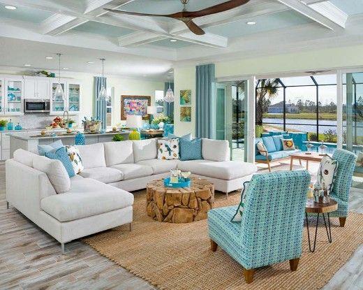 Coastal Home Design & Beach Decor med Latitude i Margaritaville.