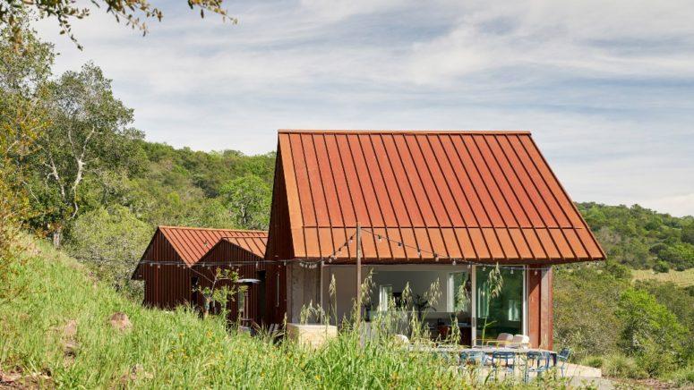 Uunique Triple Barn Residence i Kalifornien - DigsDi