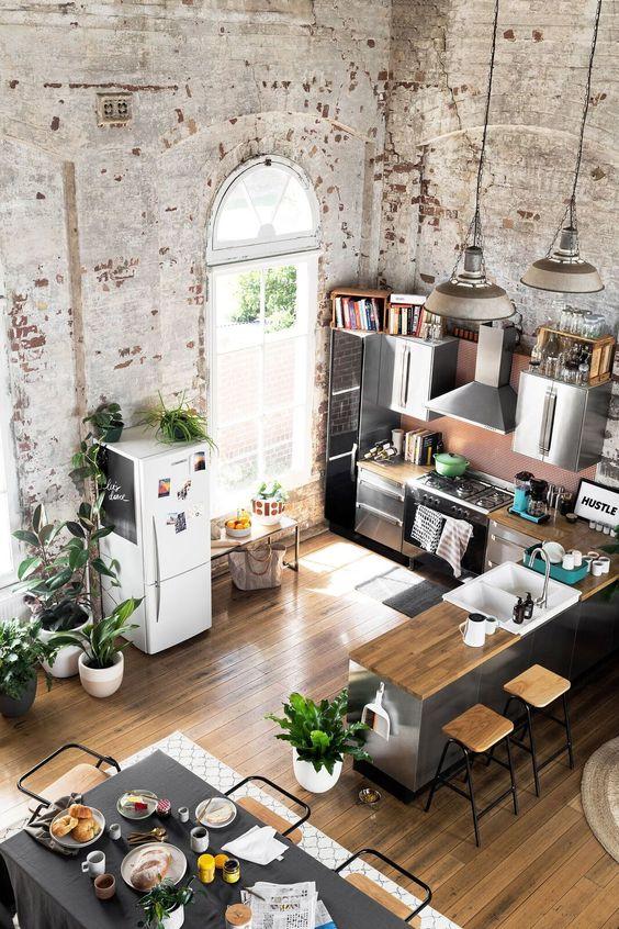 Vad är ett hem i industriell stil och 23 exempel - DigsDi