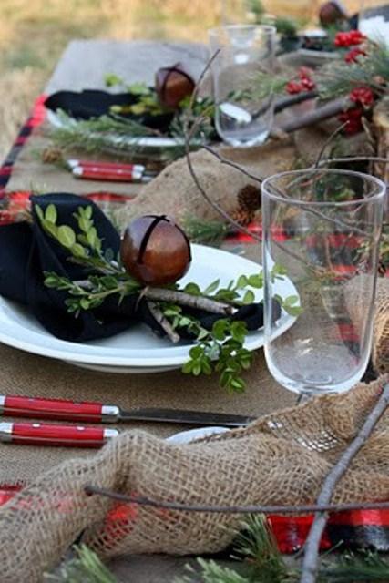 38 Inspirerande rustika julbordsinställningar - DigsDi