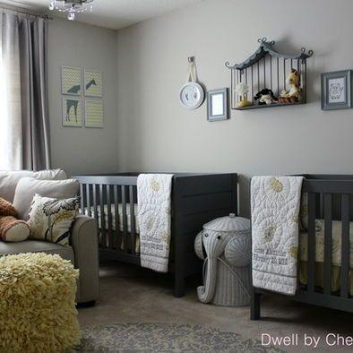 neutrala gråa barnkammare idéer  baby KI-rum / Barn + grå +.