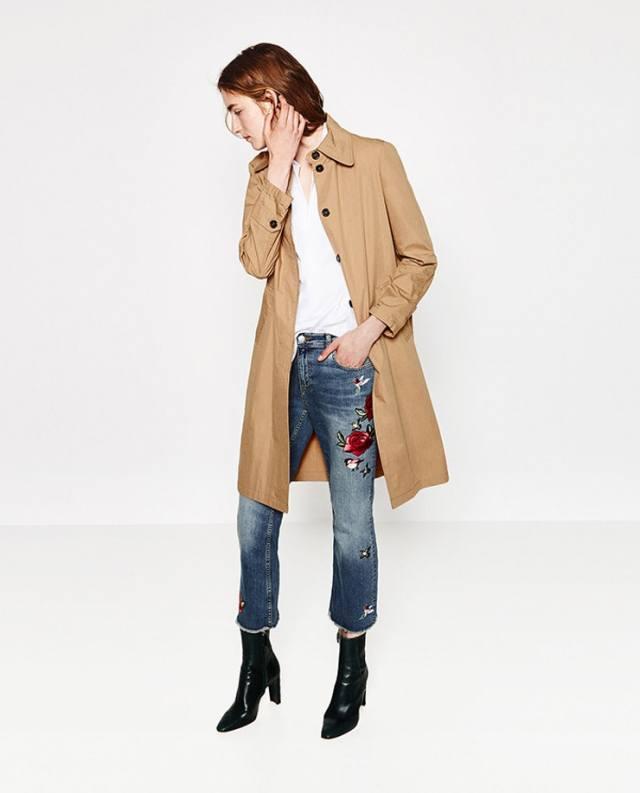 Capri Jeans Longline Jacket stövlar