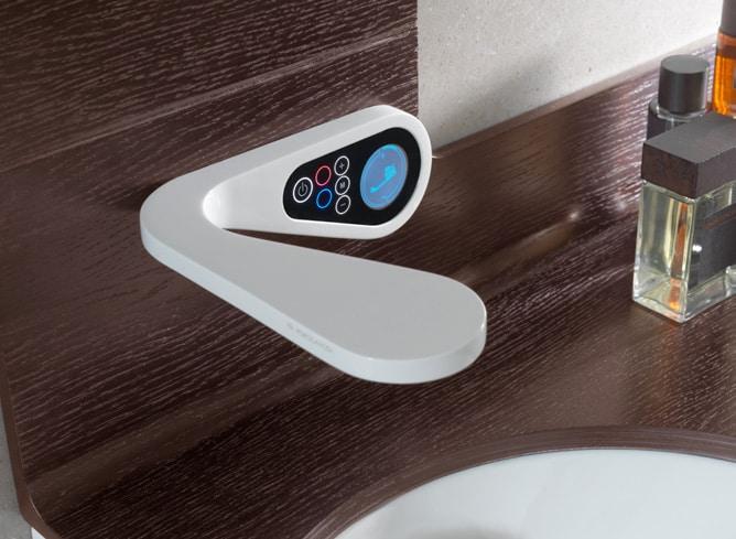 Högteknologiska badrumsblandare för digital och elektronisk uppgradering
