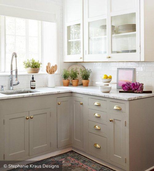 Tvåfärgade köksskåp för att inspirera din nästa Redesi