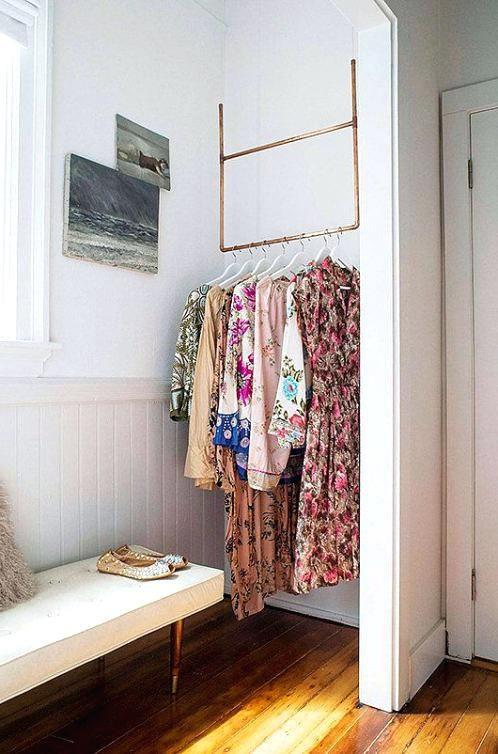 klädförvaring litet rum foto 5 av 6 kreativa klädförvaring.