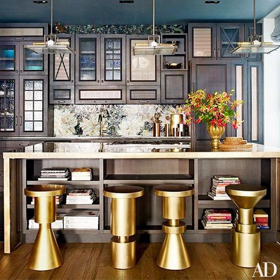 Är det okej att blanda metaller i ett rum?  av Kimberly Duran |  Ek.
