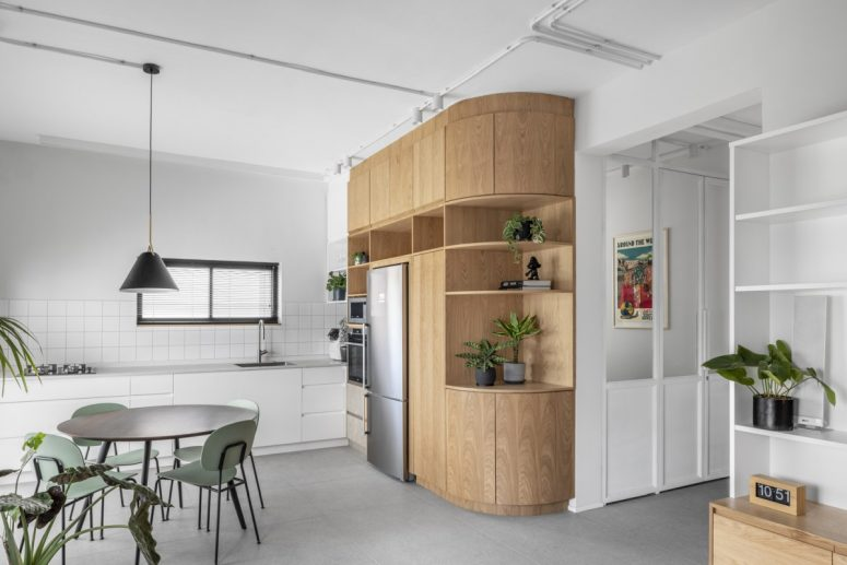 Samtida och funktionell lägenhet i neutrala delar - DigsDi