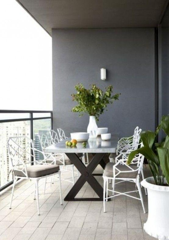 40 coolaste moderna terrasser och uteserveringsutrymme designidéer.
