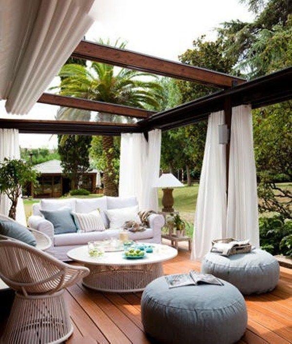 40 coolaste moderna terrasser och uteserveringsdesignidéer.