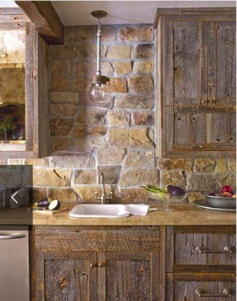 29 coola sten- och rockkökplattor som wow - DigsDigs.