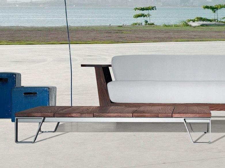 INOUT 955 |  Soffbord i teak Gervasoni Outdoor Collection By.