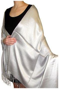 silver fransad halsduk svart tank miniklänning