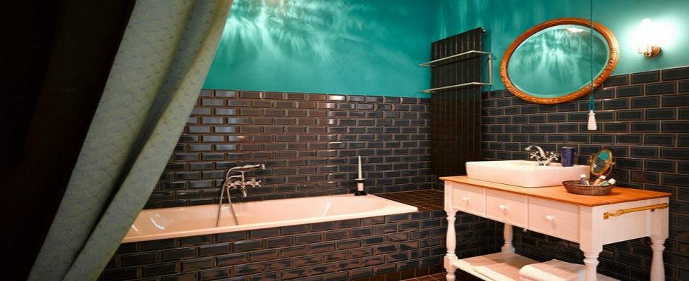 Eklektiska badrumsinredningsidéer som kommer att imponera på Y