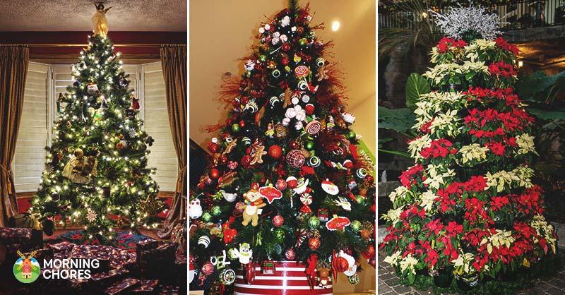 30 underbara julgransdekorationsidéer du bör prova här