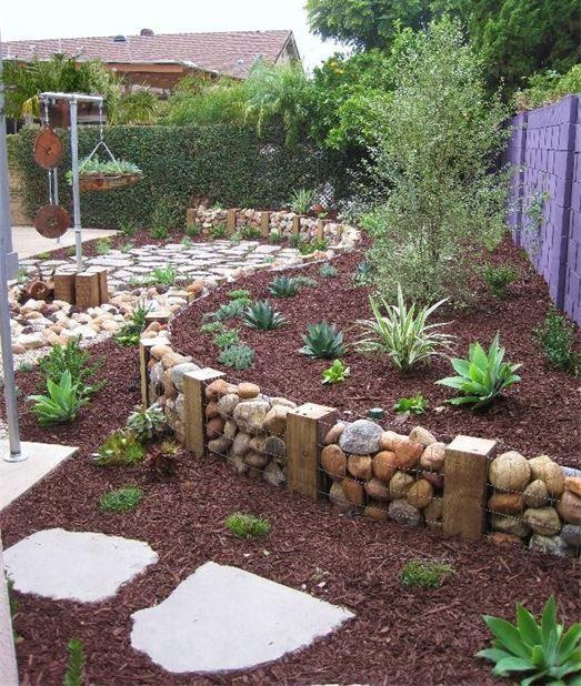 39 fantastiska trädgårdsgränser och kantidéer för ditt landskap i.