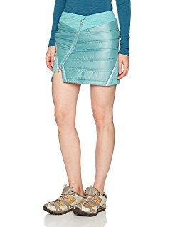 blågrön minikjol med slits
