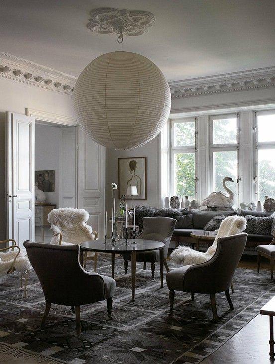 Modeillustratör Mats Gustafson Stockholm Apartment;  raffinerad.