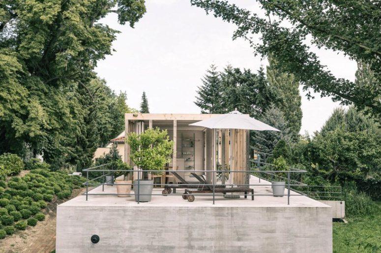 Hållbart hus som anpassar sig till alla årstider - DigsDi
