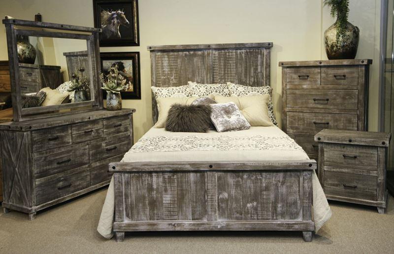 LMT |  VMABEL-BOLT01 |  Stone Creek Rustic Bedroom S