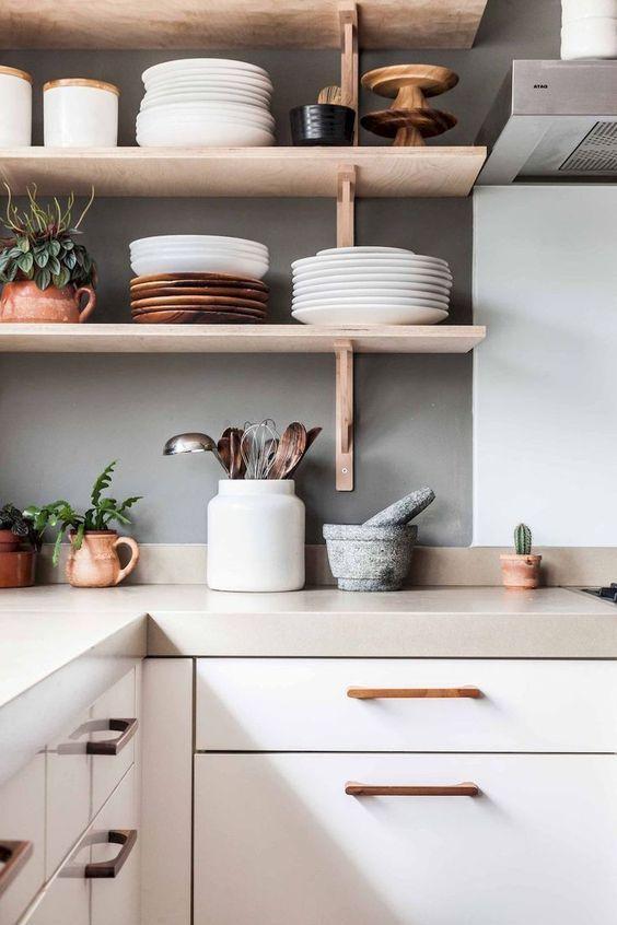 Modern köksdekor: Dessa koppar accenter ger oss liv.