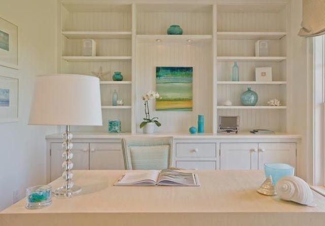23 strandinspirerade hemmakontorsdesigner - DigsDi